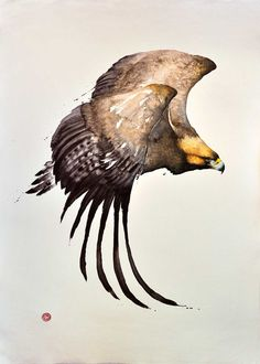 Karl Martens, GOLDEN EAGLE | The Wykeham Gallery