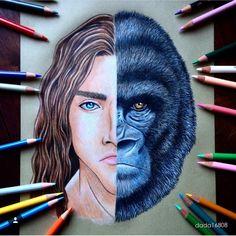 Dada16808 Disney Tarzan vs Kerchak
