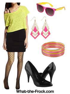 What the Frock? - Affordable Fashion Tips and Trends: Personal Shopper: 80's Party