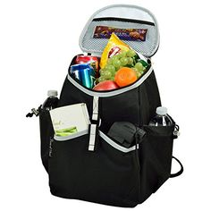 Picnic at Ascot 537BLK Cooler Backpack * Read more reviews of the product by visiting the link on the image.
