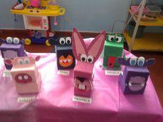 brinquedos feitos de caixa de leite - Pesquisa Google