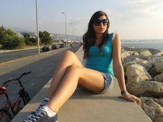 Hot Teen Israeli Girl Near Beach