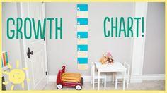 DIY   Growth Chart (fun & easy!!!)