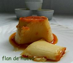 las recetas de mi abuela: FLAN DE HUEVO