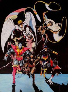 John Byrne Draws the X-Men
