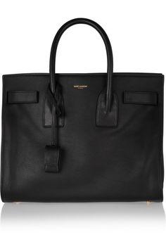 Shop now: Saint Laurent leather tote