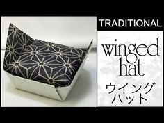 Traditional Origami Winged Hat Tutorial - YouTube