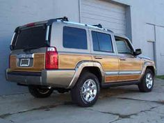 Jeep Commander Woody Kit Photo Page