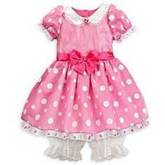 Cate for Halloween Disney Minnie Mouse Costume for Girls - Pink