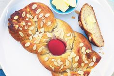 Celebrate Orthodox Easter with this traditional sweet bread. Christos anesti