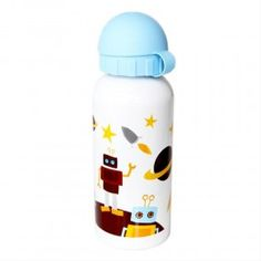 Robots Stainless Steel Drink Bottle - 350 ml