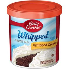 Betty Crocker Whipped Cream Cheese Frosting Oz) for sale Whipped Buttercream Frosting, Whipped Cream Cheese Frosting, Canned Frosting, Icing, Betty Crocker, Fluffy White Frosting, Gluten Free Frosting, Chocolate Frosting, Oreo Frosting