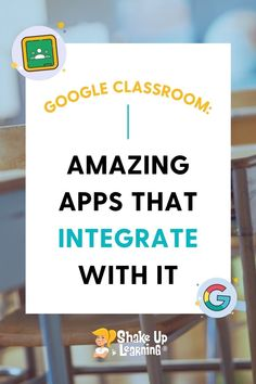 Check out this list of over 70 Awesome Apps that Integrate with Google Classroom! Did you know that Google Classroom plays well with others? Yep! Google is known for making their applications open to working with third-party applications, and Google Classroom is no exception. Free Teaching Resources, Teaching Methods, Teacher Resources, Google Tricks, Mobile Learning, Third Party, Google Classroom, Classroom Activities, Educational Technology