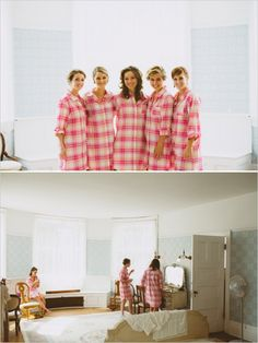 Oh my god button down flannel nightgowns for getting ready/ bridesmaid gifts! More original than robes. Short Bridesmaid Dresses, Lace Bridesmaid Dresses, Wedding Bridesmaids, Bridesmaid Gifts, Wedding Prep, Wedding Bells, Fall Wedding, Dream Wedding, Ballroom Wedding Dresses