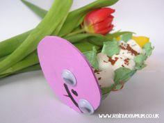 Spring Craft for Kids - Cress Caterpillars