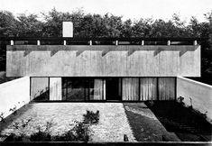 Knud Friis' own House  Braband, Aarhus, Denmark; 1958