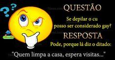 Questão e resposta