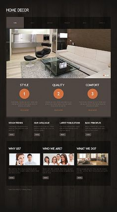 Home Decor WordPress Theme Interior Design Business Ideas Web