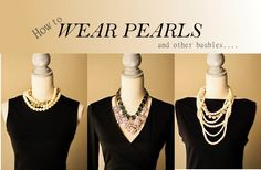 how to wear pearls and accessorize your little black dress New Year's Eve Fashion Black Dress Accessories, Black Dress Outfits, Dress Black, Dainty Diamond Necklace, Black Wedding Dresses, Fancy, Fashion 101, Style Guides, What To Wear