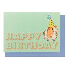 Pets Party Happy Birthday Greetings Card