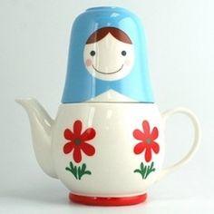 Matrioska Teapot