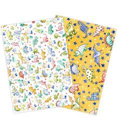 Set de 2 papeles de arroz o wafer paper con diseño de Dinosaurs, de Natasha Collins. Gracias a su tamaño folio, son ideales para decorar tartas. Además, para elaborar flores y originales diseños para decorar pasteles, cupcakes o galletas, basta con cortar la forma que se necesite. Se pueden cortar contijeras y cizallasotroqueladorasy se puede usarcolorantes en polvopara añadir un toque extra de color a la flor con un pincel. Incluye 2 hojas de diferentes diseños. Modo de empleo:…
