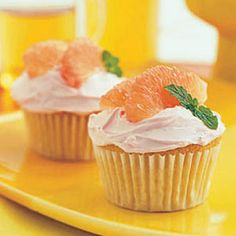 Grapefruit Cupcake Recipe – Find Summer Cupcake Flavors