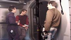 On set of Star Trek: Enterprise (½).
