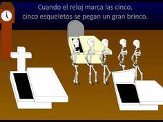 Skeletons song for dia de Los muertos