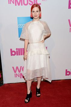 Hayley Williams Women in Music Billboard event