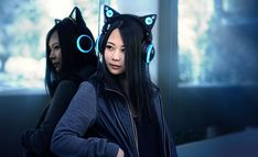 Cat Ear Headphones By Axent Wear #eClothing