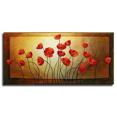 handgefertigte florale Malerei