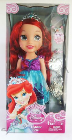 My First #Disney Princess Toddler Ariel Doll NEW. $47.99