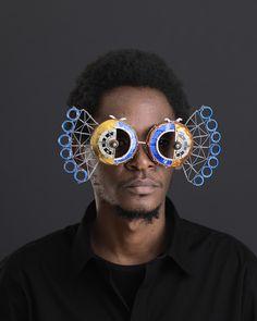 Cyrus Kabiru, 'Njia Ya Maisha, Macho Nne Egyptian Peacock,' 2015, SMAC ART GALLERY