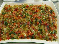 Yemek Tarifleri: Köz Sebze Salatası