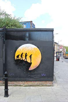 Artist : Osch :street art in London