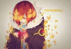 Flowerfell ~ Frisk Frans Undertale, Undertale Love, Anime Undertale, Undertale Ships, Undertale Drawings, Frisk Fanart, Flowerfell Comic, Chara, Little Misfortune