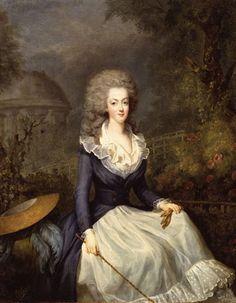 Fotos de Maria Antoinette-     Retratada por Vigee Lebrun en 1778
