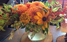 Beautiful summer arrangement- Anna Mara Flowers