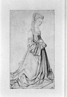 Kneeling woman - Rogier van der Weyden