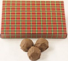 Scott's Cakes Milk Chocolate Covered Banana Cream Bon-Bons in a 1 Pound Christmas Plaid Box *** Insider's special review you can't miss. Read more  : Gift Baskets