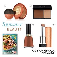 Get Shopping with OUT OF AFRICA: SEPTEMBER Issue OUT NOW!  Find makeup fragrance and skin care products that will keep you looking restored and radiant all season long. Head to the shops with OUT OF AFRICA September Issue and get shopping.  1. ESTEE LAUDER BRONZE GODDESS $69 its endless summer with this super-luxurious powder bronzer. Available at selected pharmacies. 2. SLEEK FACE CONTOUR KIT $15 Contour Kit works to sculpt your facial features and has amazing slimming effects. Available at…