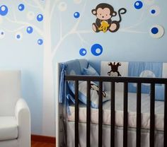 decoracion para cuarto de bebe varon - Google Search