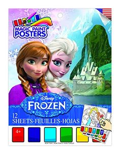 Kids' Watercolor Paint - Savvi Disney Frozen Magic Paint Poster Book -- You can find out more details at the link of the image.