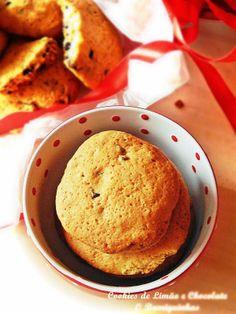 O Barriguinhas: Cookies de Limão e Pepitas de Chocolate