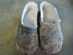 DIY Slippers- definitely need these in every color!