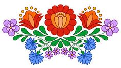 Traditional Hungarian Floral Motif - Download From Over 45 Million High Quality Stock Photos, Images, Vectors. Sign up for FREE today. Image: 55331255