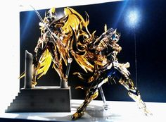 Sagipter no Aiolos & Leo no Ioria Myth Cloth Ex Bandai Soul of Gold