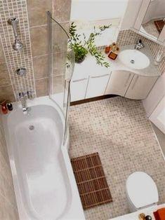 Ideas about bathroom design layout small bathroom bathtub, corner sink bathroom small, corner sink Bathroom Design Layout, Bathroom Design Small, Bathroom Interior Design, Small Bathrooms, Bathroom Designs, Bathroom Ideas, Bathtub Ideas, Bathroom Remodeling, Modern Bathroom