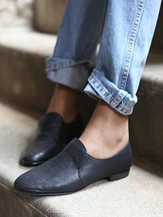leather loafers | Free People